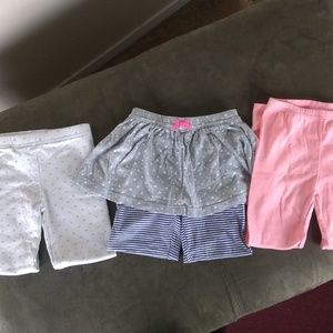Carter's pants bottoms Skorts 3pair D 64
